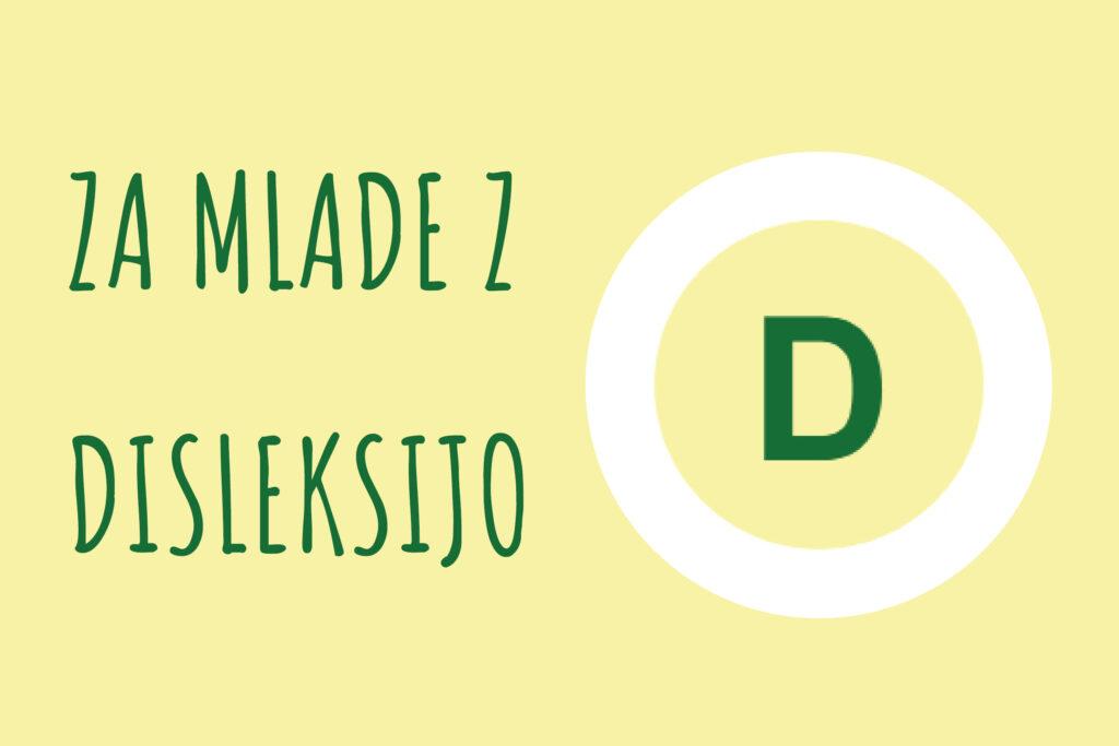 Za mlade z disleksijo